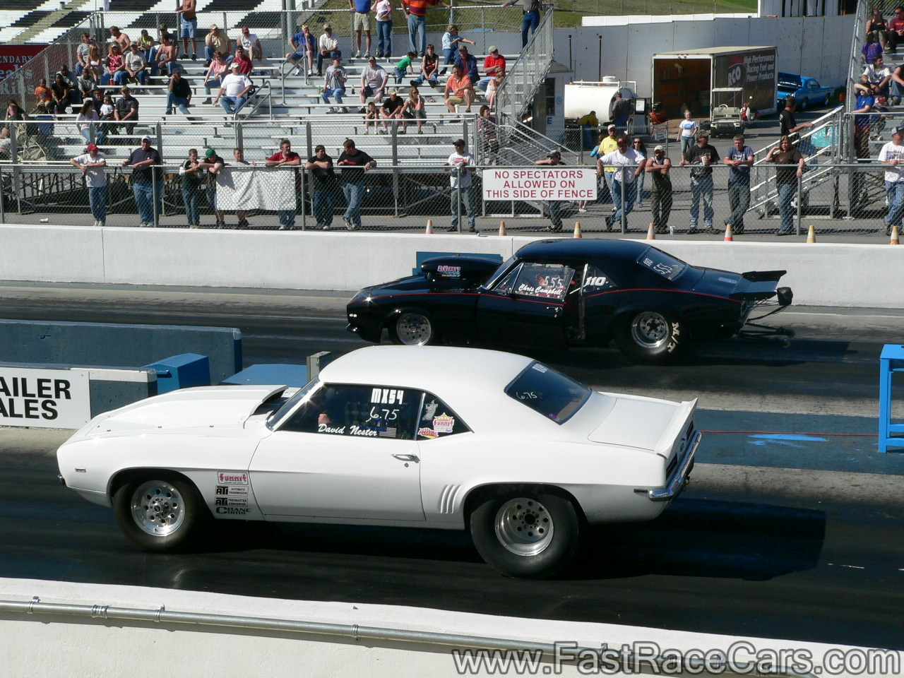Drag Race Cars Gt Camaros Gt Picture Of 2 Camaros On The