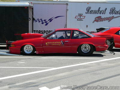 RED Z24 CAVALIER DRAG CAR