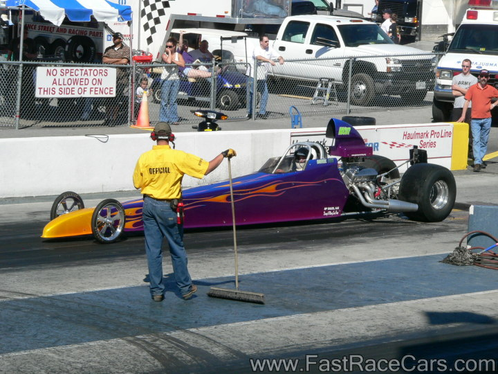 Purple DRAGSTER