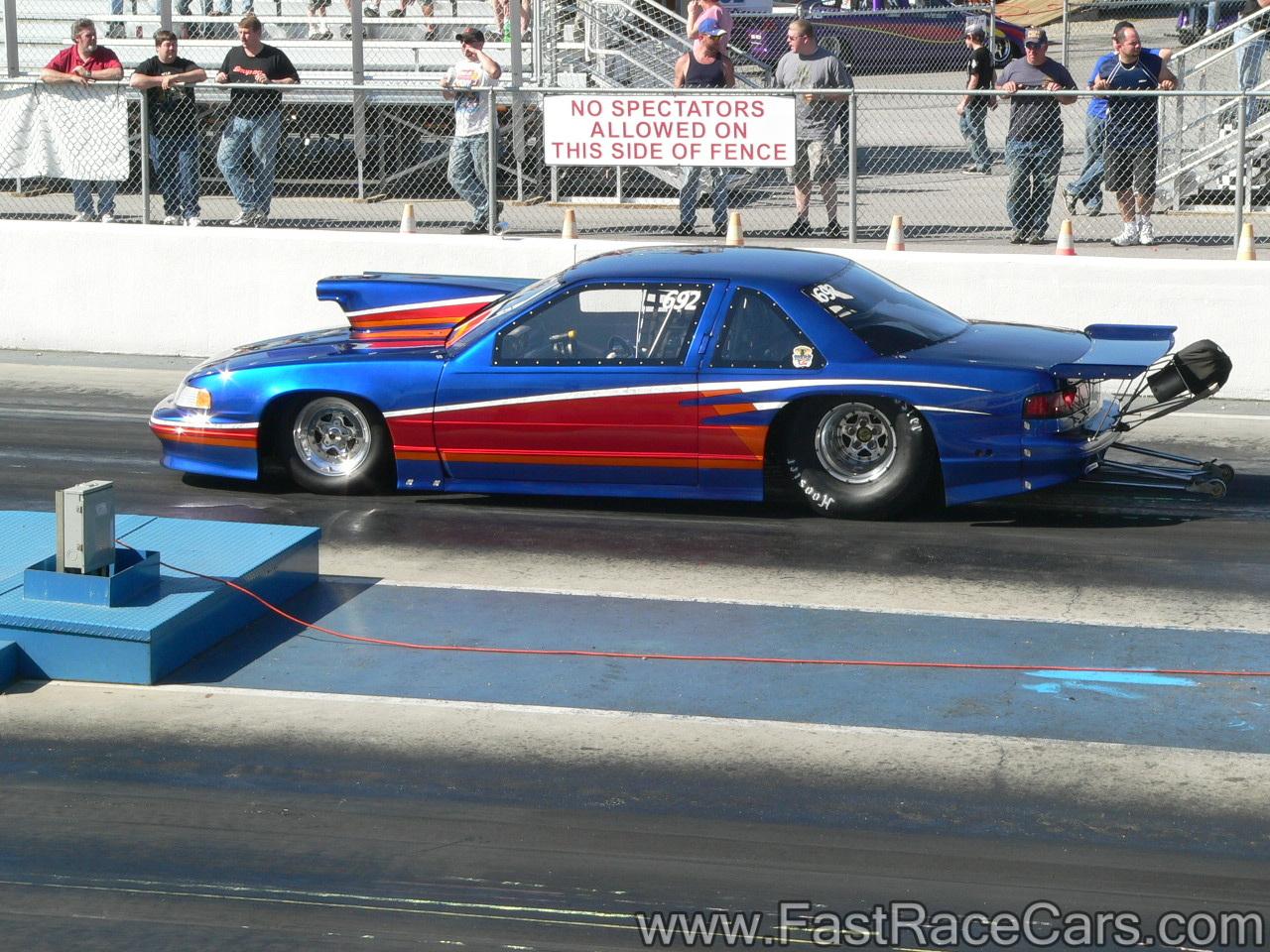 Chevrolet Lumina Drag Race Car