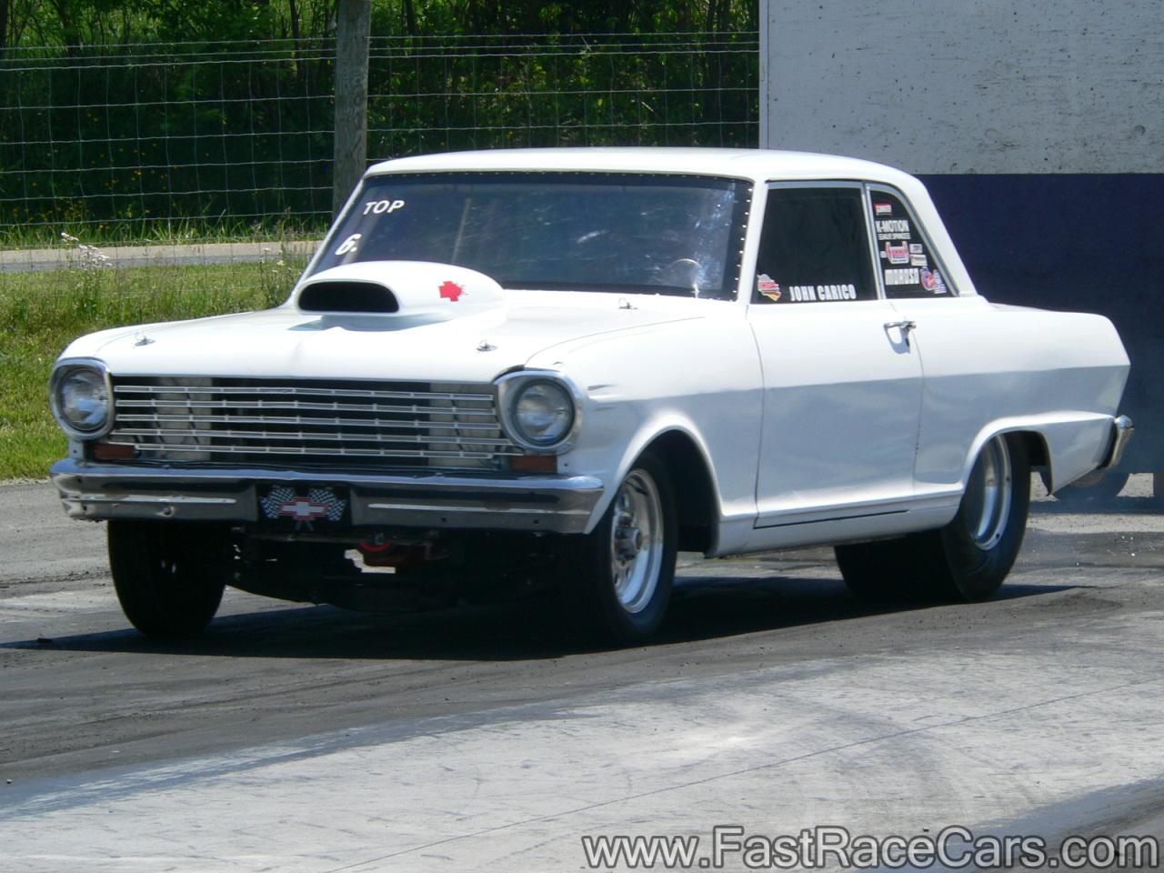drag race cars novas picture of white nova drag car. Black Bedroom Furniture Sets. Home Design Ideas