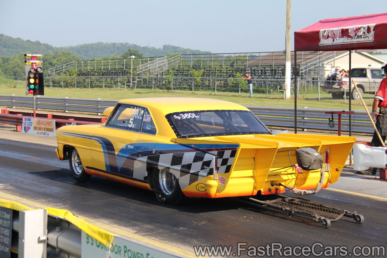 Drag Race Cars > Novas > Picture of Yellow 1967 Nova Top Sportsman ...