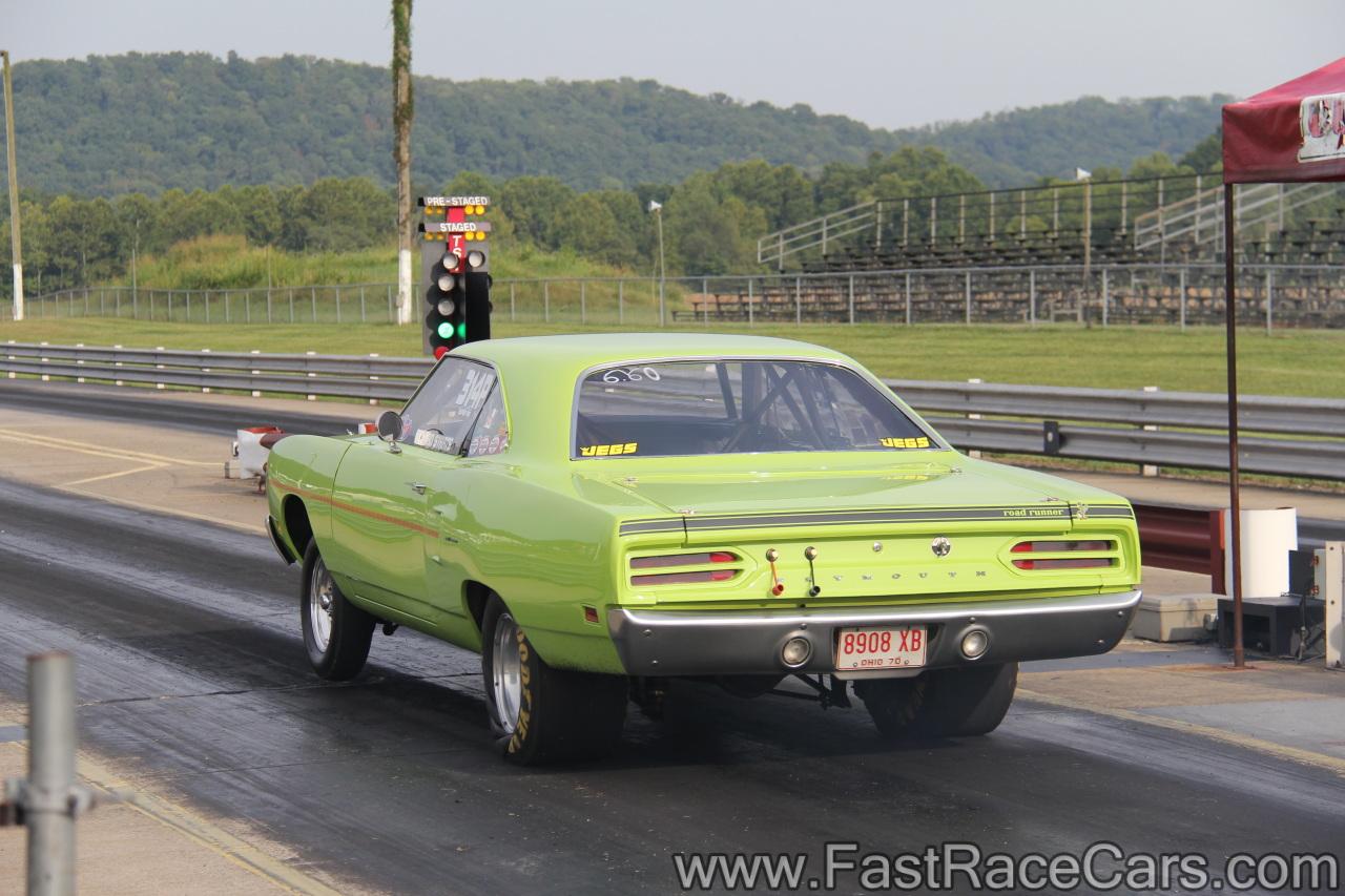 Drag Race Cars > Roadrunners > Picture of Green Roadrunner