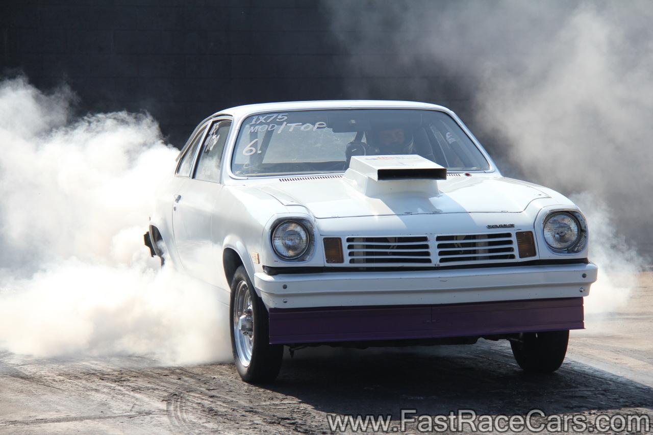 Drag Race Cars > Vegas > Picture of White 1975 Vega