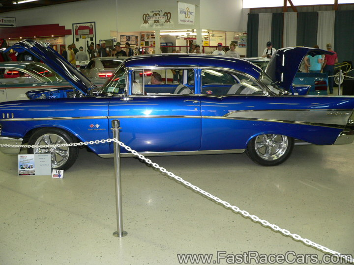 BLUE 1956 CHEVY