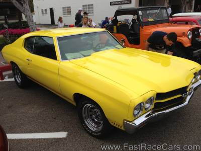 Yellow 1970 Chevelle SS