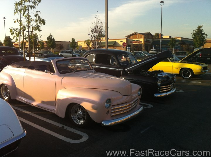 Couple of old Ford Coupes