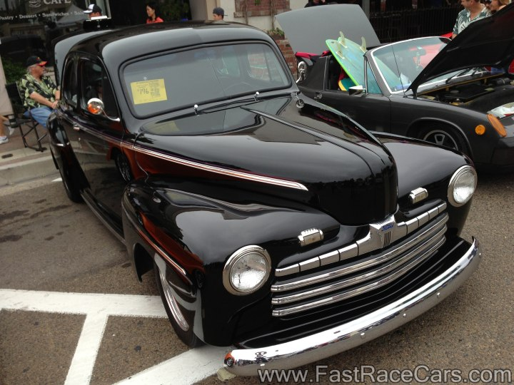 Black Ford Coupe