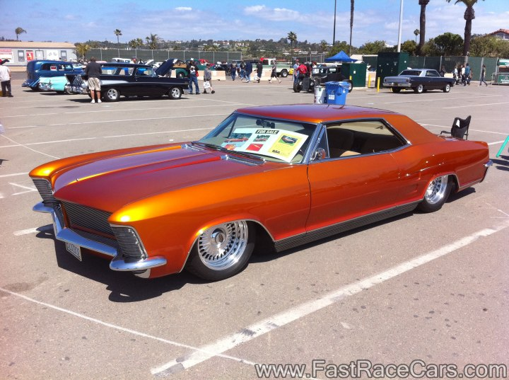 Orange Buick Riviera